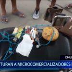 Piura: Capturan a micro comercializadores en Chulucanas