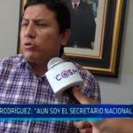 """Elías Rodríguez: """"Aun soy el secretario nacional del APRA"""""""