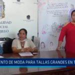 Evento de modas para tallas grandes en Trujillo