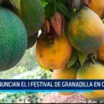 Anuncian el I festival de la granadilla en Otuzco