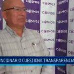 Ex funcionario cuestiona transparencia en MPT
