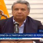 Ecuador: Gobierno da ultimátum a captores de periodistas