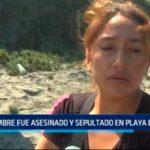 Hombre fue asesinado y sepultado en playa de Moche