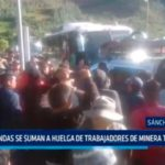 Rondas se suman a huelga de trabajadores de minera Tahoe Perú