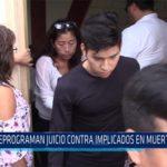 Chiclayo: Reprograman juicio contra implicados en muerte de niña