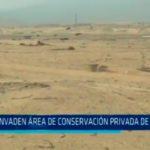 Invaden área de conservación privada de la UNT
