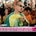 """Mundial Rusia 2018: J Balvin presentó un adelanto de su canción """"Positivo"""""""