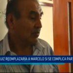 José Ruiz reemplazaría a Marcelo si se complica participación
