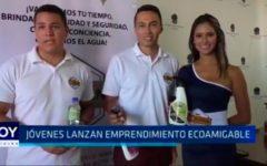 Jóvenes lanzan emprendimiento ecoamigable
