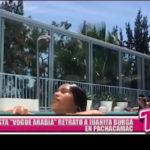 """Revista """"Vogue Arabia"""" retrató a Juanita Burga en Pachacámac"""