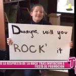 """""""La Roca"""" respondió a estudiante tras invitación a fiesta de promoción"""