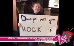 'La Roca' respondió a estudiante tras invitación a fiesta de promoción