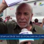 Libre desafiliación de taxis se oficializará en los próximos días