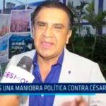 """""""Es una maniobra política contra César Acuña"""""""
