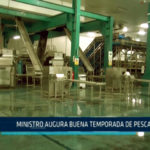 Chimbote: Ministro augura buena temporada de pesca