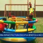 Moderna infraestructura educativa beneficia a más de 50 niños