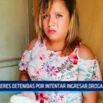 Mujeres detenidas por intentar ingresar drogas al penal