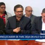 Colombia: Exnegociador de FARC deja en vilo su escaño