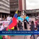 Venezuela: Pacientes con VIH exigen medicamentos