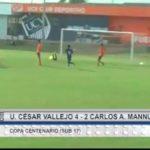 UCV venció por 4 a 2 a Carlos A. Mannucci por la Copa Centenario Sub 17