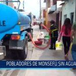 Chiclayo: Pobladores de Monsefú sin agua