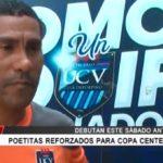 Poetitas reforzados para Copa Centenario