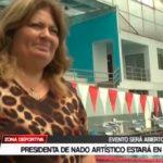 Natación: Presidenta de nado artístico estará en Trujillo