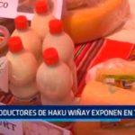 Productores de Hawu Wiñay exponen en Trujillo