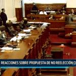 Chimbote: Reacciones sobre propuesta de no reelección Congresal