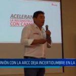 Reunión con la ARCC deja incertidumbre en La Libertad