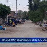 Piura: Más de una semana sin servicio de agua