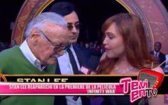 Internacional: Stan Lee reapareció en la premiere de la película 'Infinity War'
