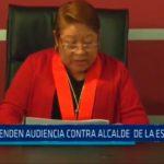 Suspenden audiencia contra alcalde de La Esperanza