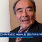 Teodoro Rivero Ayllón, el escritor infatigable