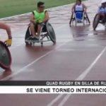 Se viene torneo internacional de Quad Rugby en silla de ruedas