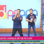 Orquesta Candela llegó al set de Depeapa