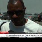 Villamarín asegura que todo es un proceso