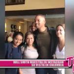 Will Smith muestra en Instagram lo bien que lo pasa en Colombia