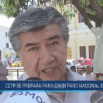 Chiclayo : CGTP se prepara para gran paro nacional en mayo