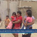 Chiclayo : Salud necesita 4 millones para emergencia en Mórrope