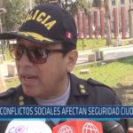 Chiclayo : Conflictos sociales afectan seguridad ciudadana