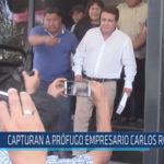 Chiclayo : Capturan a prófugo empresario Carlos Roncal