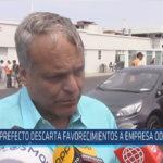 Chiclayo : Prefecto descarta favorecimientos a empresa odebrecht