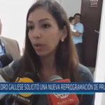 Chiclayo : Gallese solicitó reprogramación de prueba de ADN