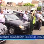 """Chiclayo: """"Taxi Cívico"""" inicia funciones en Aeropuerto José A. Quiñones"""