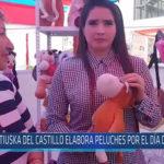Chiclayo : Katiuska del Castillo elabora peluches por el día de la Madre