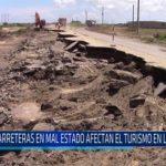 Chiclayo: Carreteras en mal estado afectan el turismo en Lambayeque