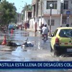 Piura: Castilla esta lleno de desagües colapsados