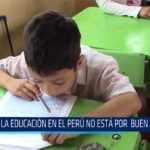 Chiclayo: La educación en el Perú no está por buen camino