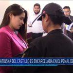 Chiclayo: Katiuska Del Castillo es encarcelada en el penal de Chiclayo